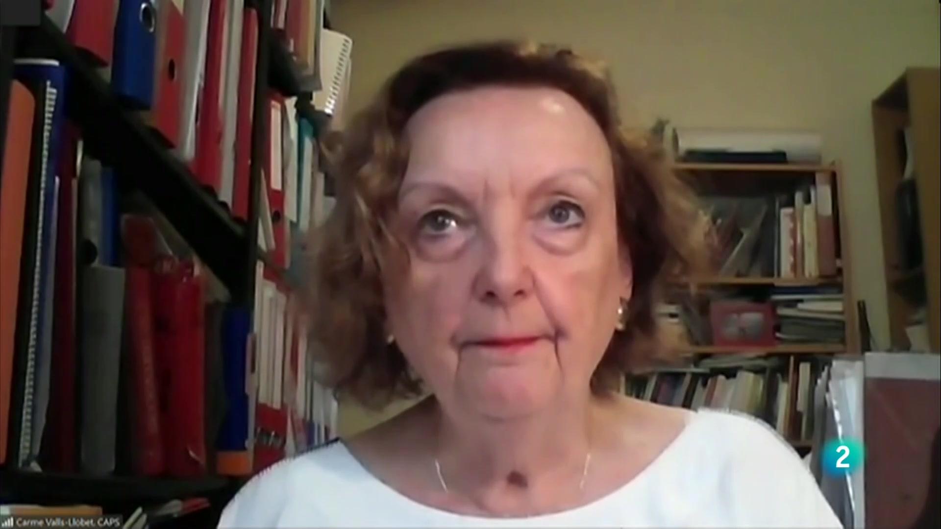 """Carme Valls : """"Les dones tenen més efectes secundaris per una millor reacció immunològica"""""""
