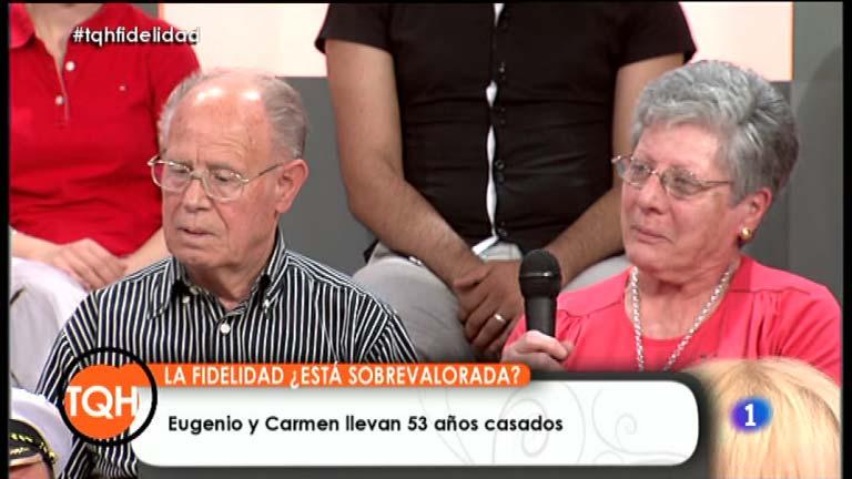 """Tenemos que hablar: Carmen y Eugenio: """"La gente de antes era más formal que la de ahora"""""""