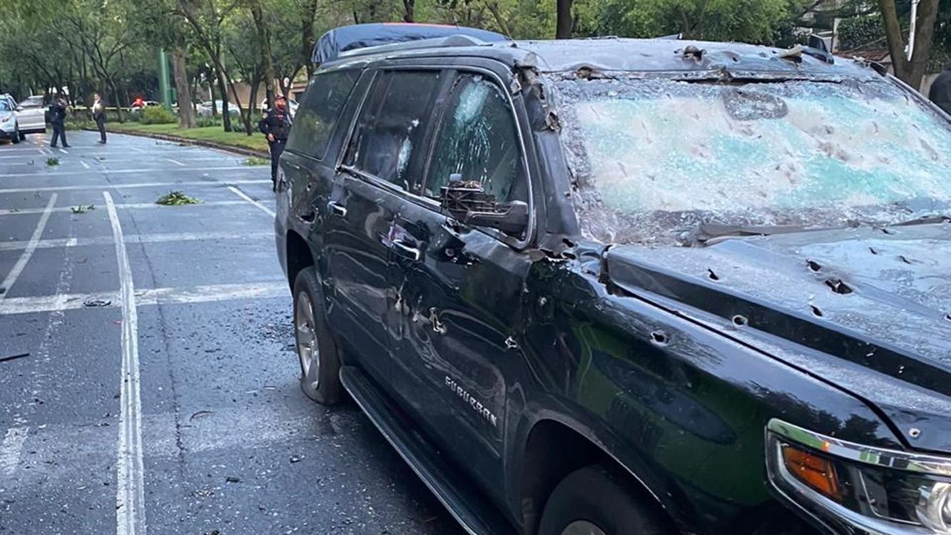 Enrique Alfaro amenazado por el CJNG después del atentado al secretario de Seguridad de la CDMX