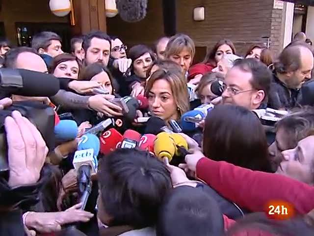 """Chacón espera un congreso """"muy democrático"""" y López se descarta como candidato"""