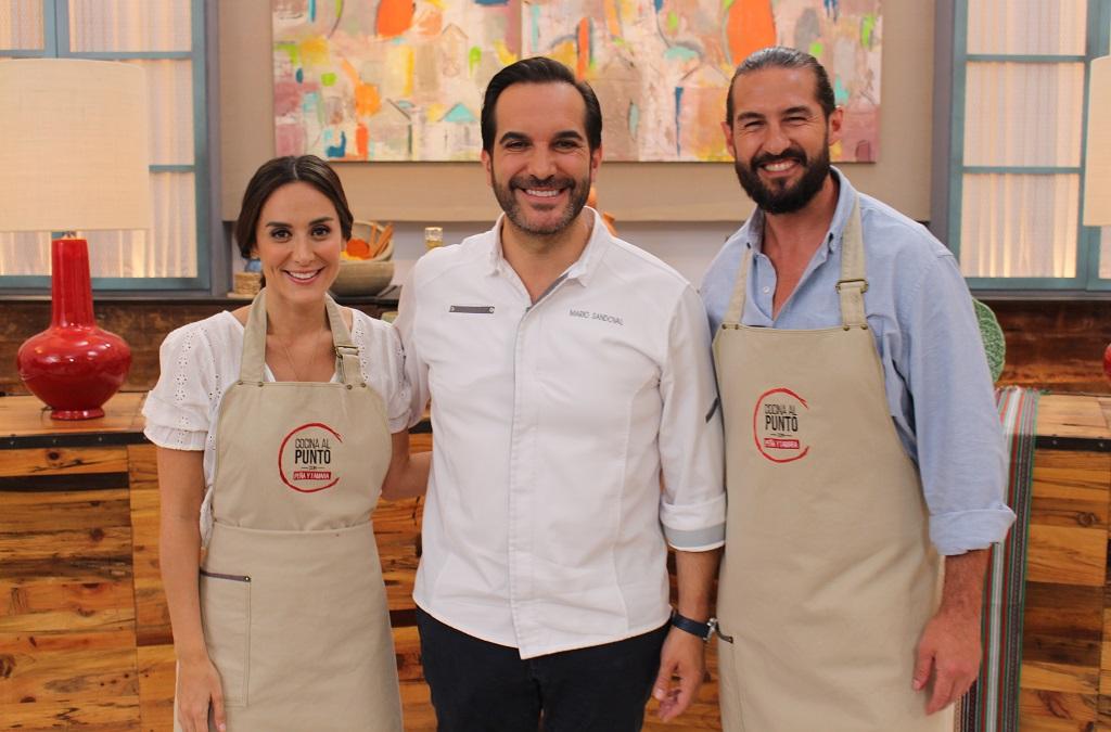 El chef Mario Sandoval en 'Cocina al Punto'