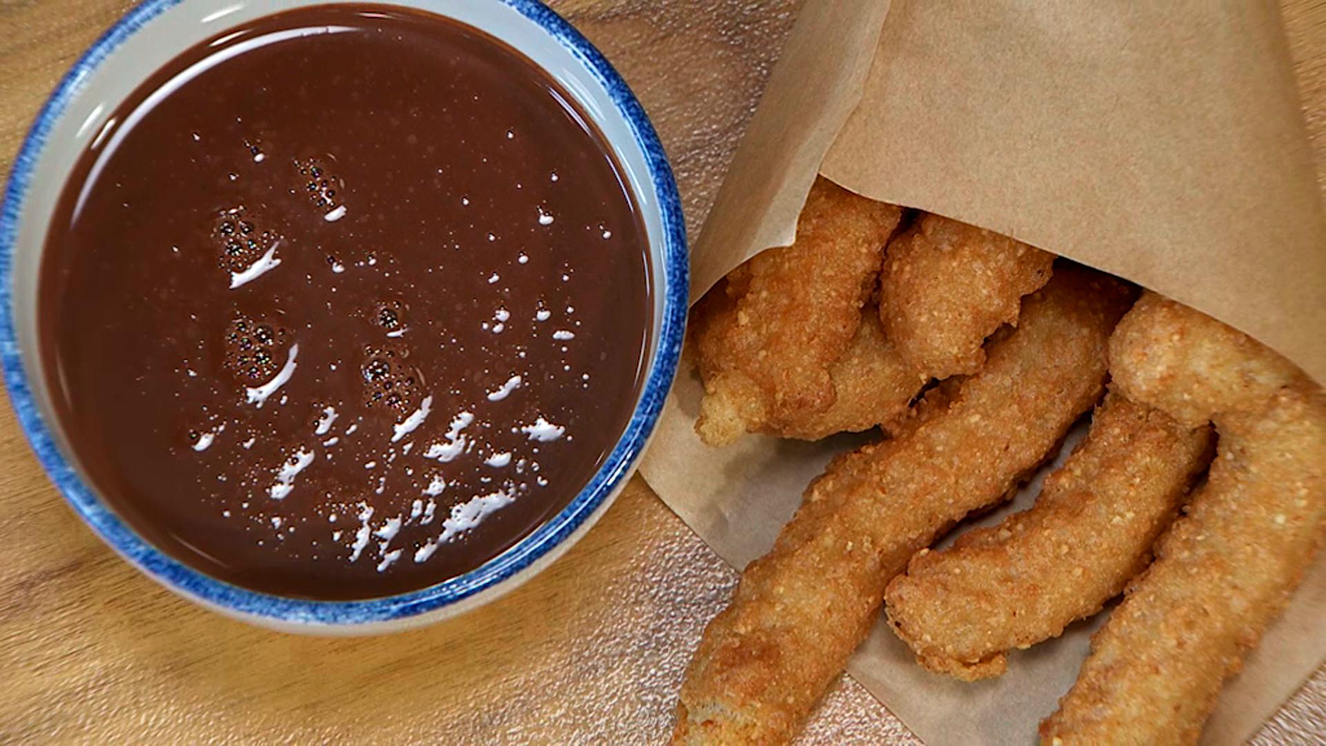 Torres en la cocina - Churros con chocolate