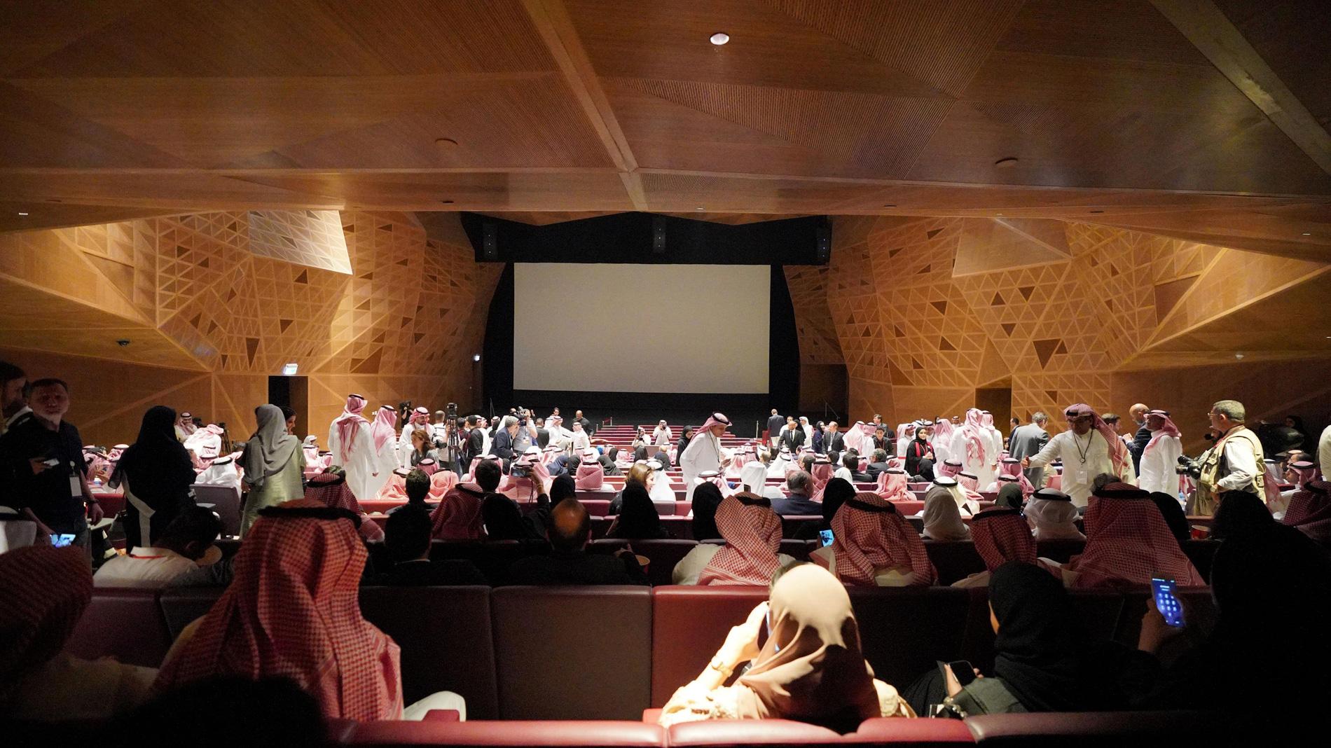 El cine regresa a Arabia Saudí después de más de tres décadas de prohibición