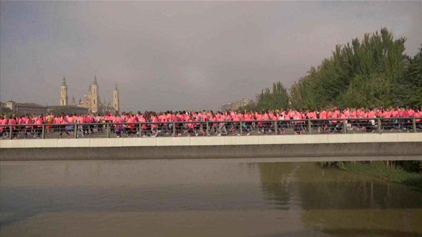 Atletismo - Circuito 'Carrera de la Mujer 2018'. Prueba Zaragoza