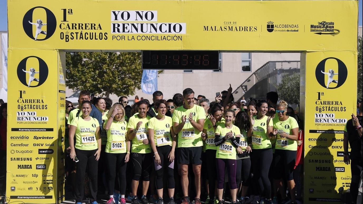 Circuito Music Run España 'Mr Carrera de Obstáculos yo no renuncio'