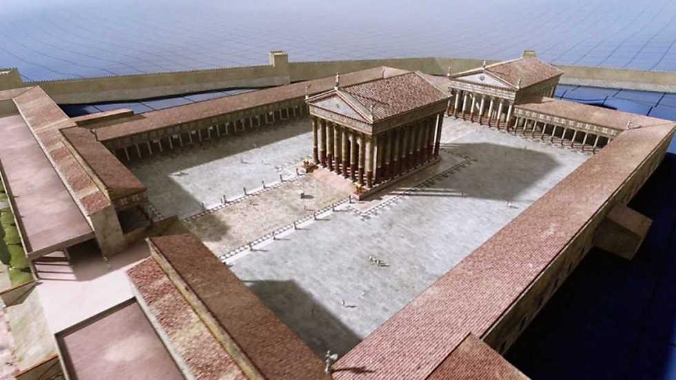 Ingeniería romana - Las ciudades I