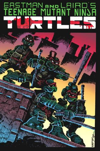 El cómic original de 'Las tortugas Ninja', de Eastman y Laird