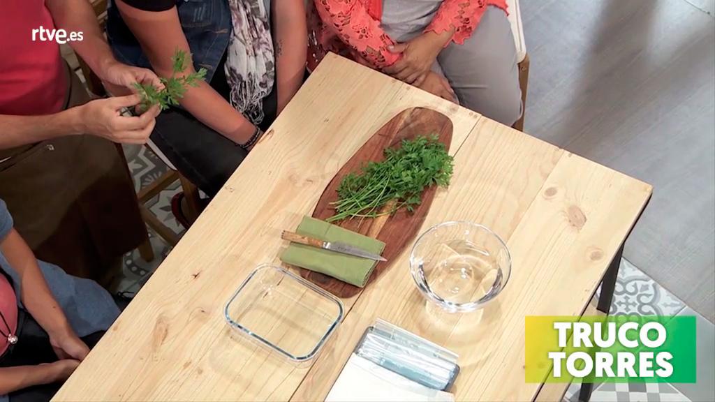 Trucos de cocina - Cómo conservar el perejil