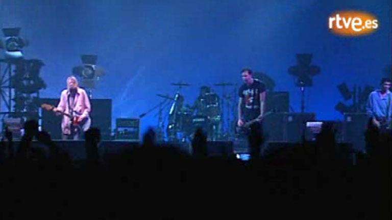Concierto de Nirvana en Madrid en 1994