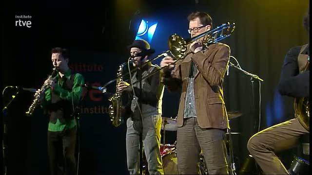 La banda del soplo en Los conciertos del Instituto RTVE