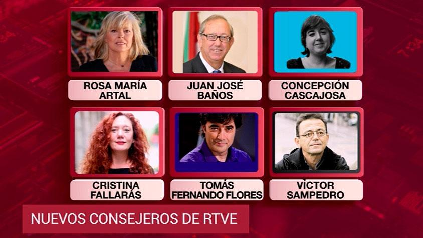 El Congreso elige a los seis consejeros de RTVE propuestos por PSOE, Unidos Podemos y PNV