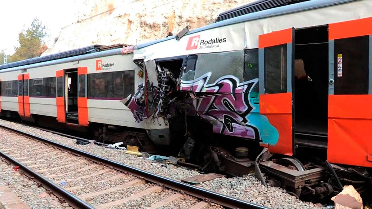 Continúa abierta la investigación para determinar las causas del accidente ferroviario de Barcelona