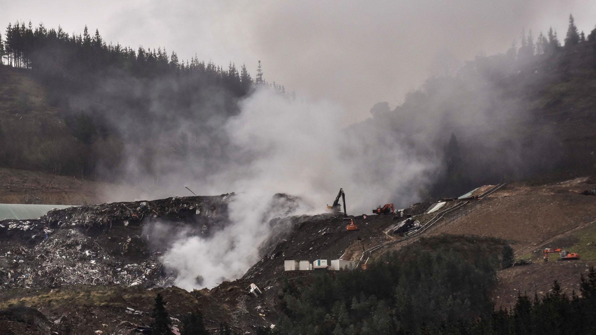 Derrumbe en Zaldibar: de accidente laboral a crisis medioambiental y política