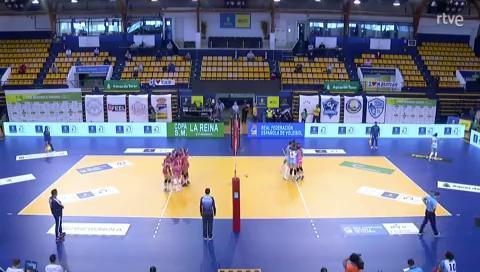 Copa de la Reina de voleibol: CV CCO 7 Palmas-CV Kiele