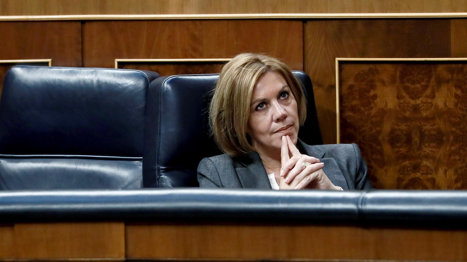 Cospedal se reunió en secreto con Villarejo en la sede de Génova tras estallar el caso Gürtel