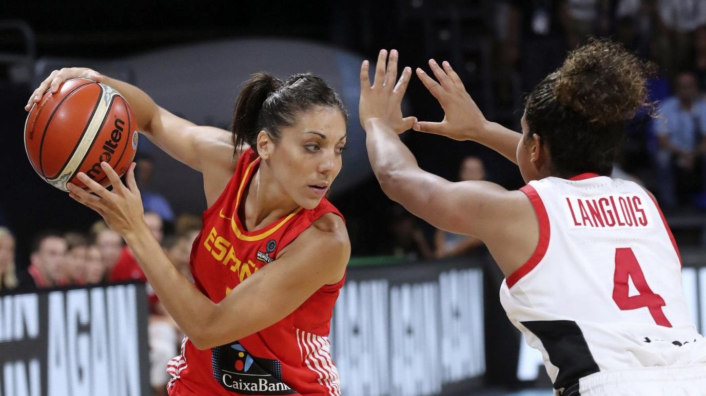 Baloncesto - Campeonato del Mundo Femenino 2018: Canadá - España