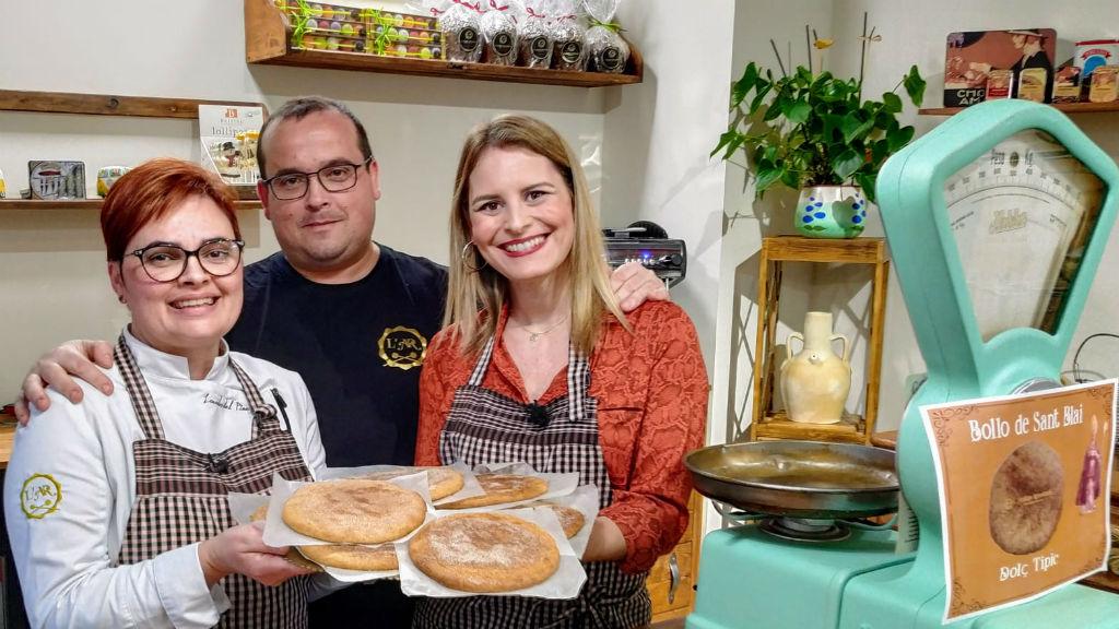 Aquí la tierra - Cuando llegue San Blas, estas tortas comerás