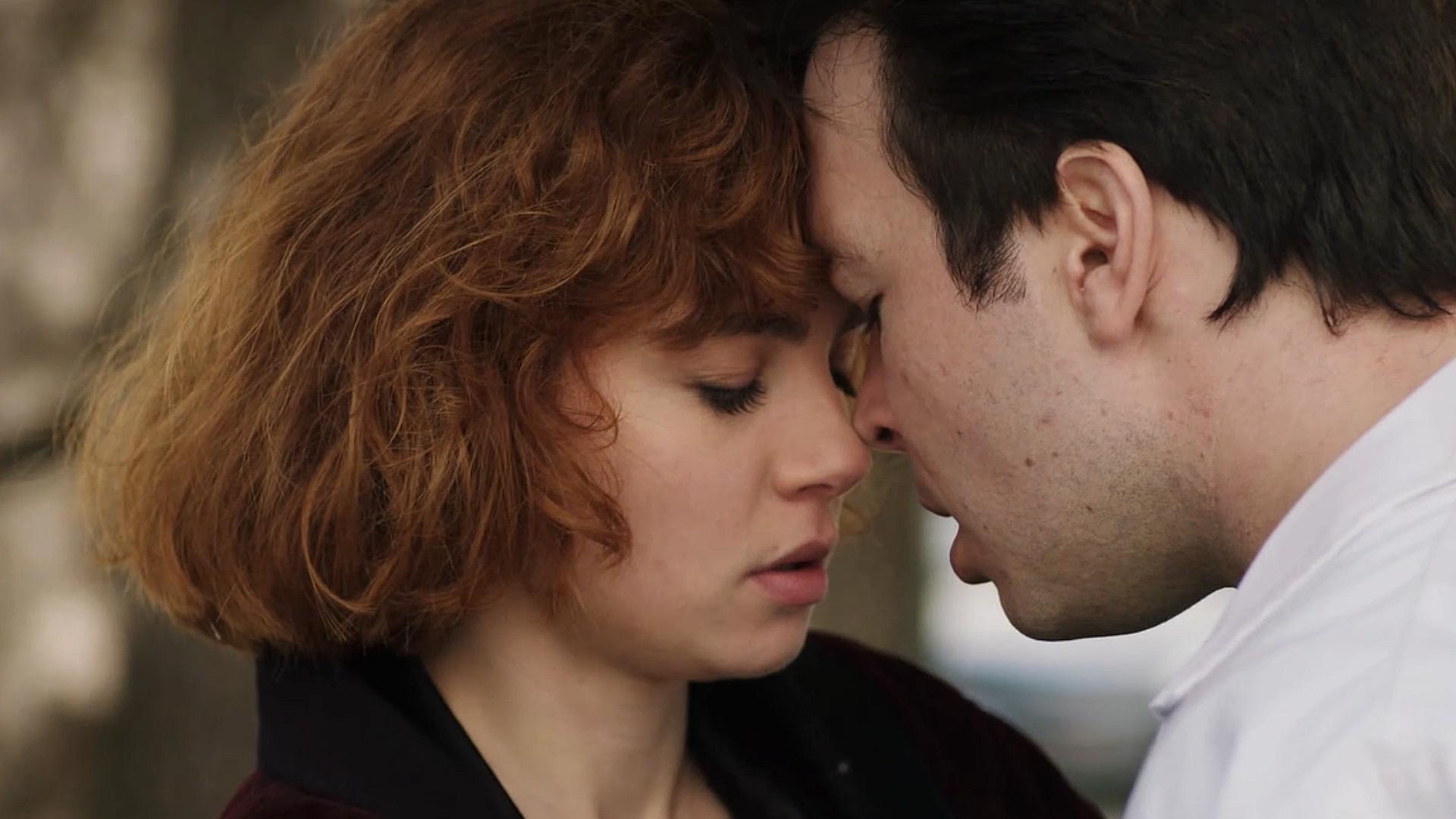 El primer beso entre María y Jorge