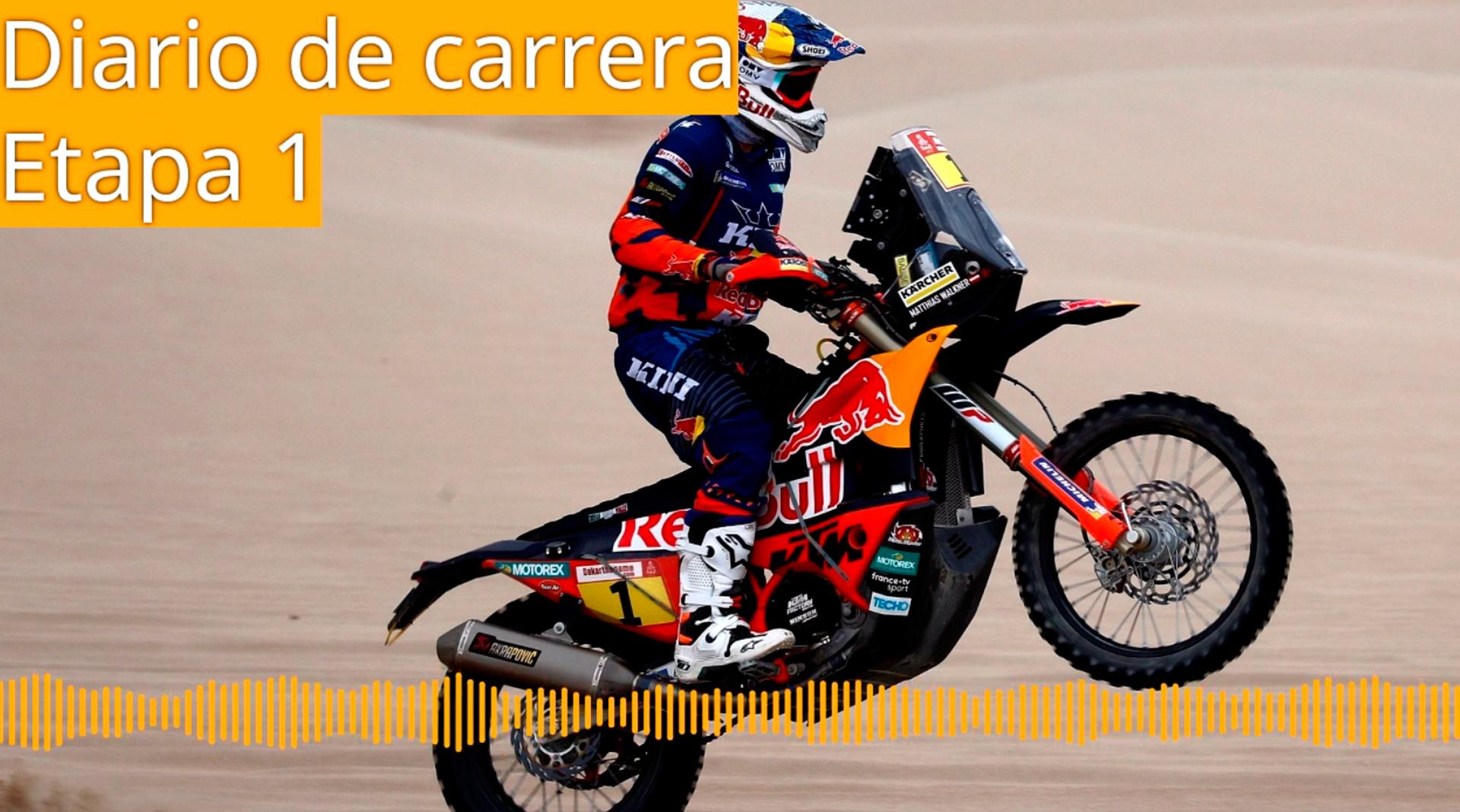Dakar 2019. Diario de Carrera. Etapa 1