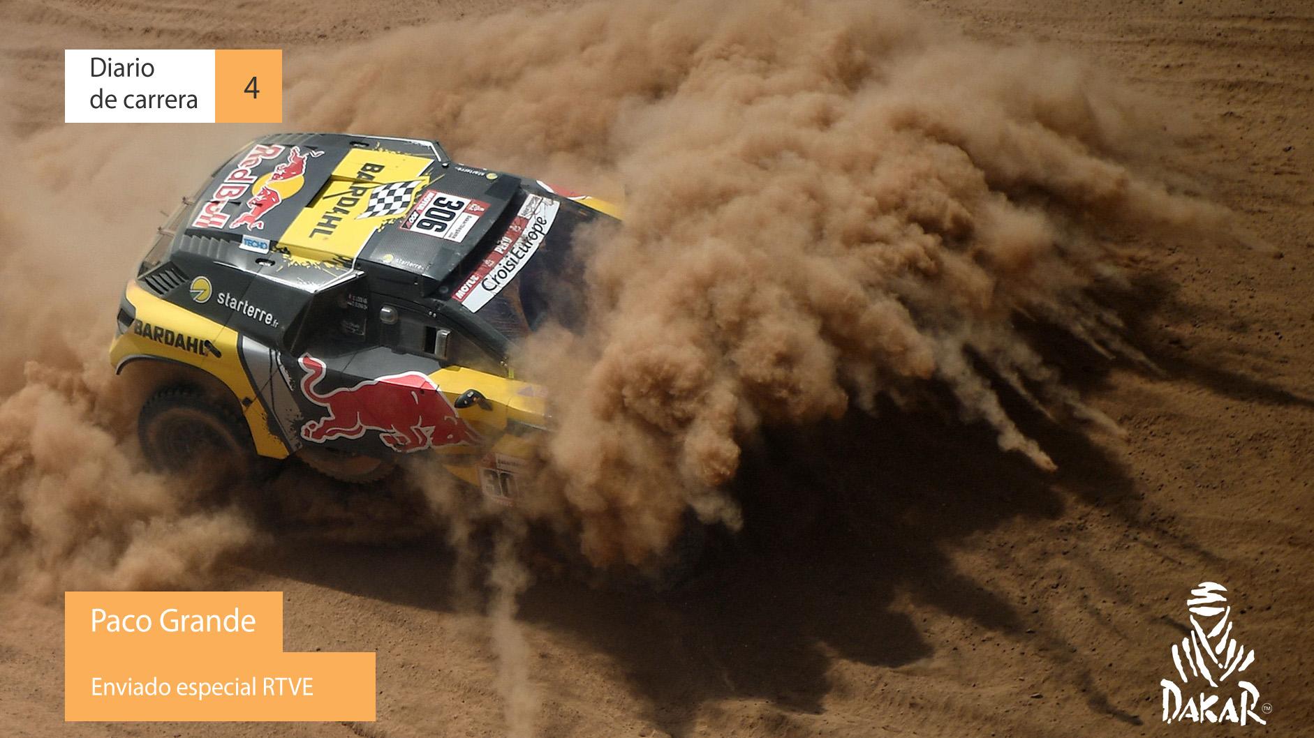 Dakar 2019. Diario de Carrera. Etapa 4