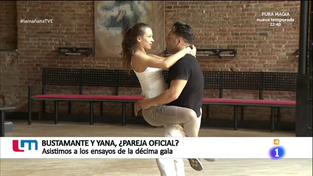 La mañana - David Bustamante y Yana se preparan para la décima gala