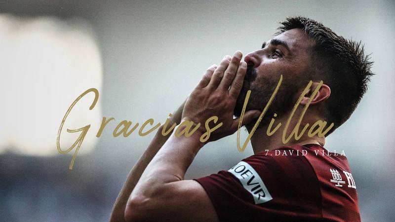 David Villa anuncia su retirada del fútbol profesional a finales de esta temporada