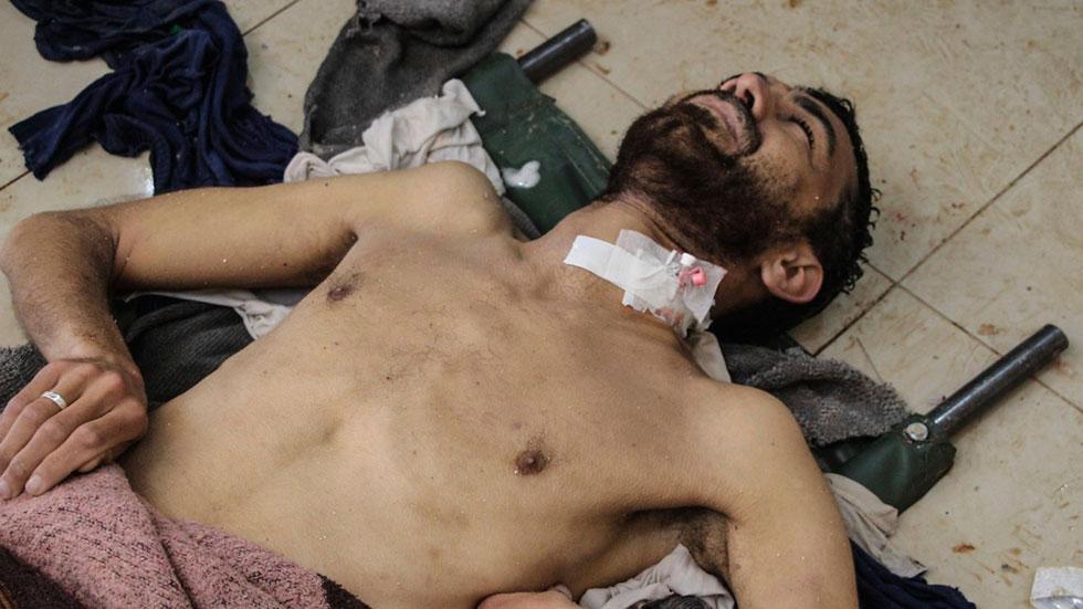Decenas de muertos en un bombardeo con gases tóxicos en Siria