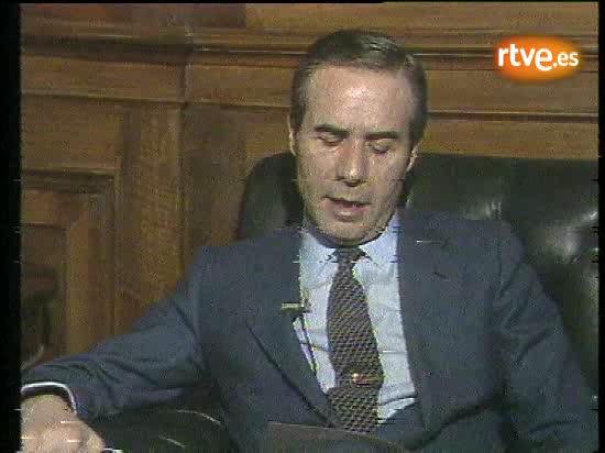 Declaración leída la noche del 23-F de 1981 por Francisco Laína, director de la Seguridad del Estado