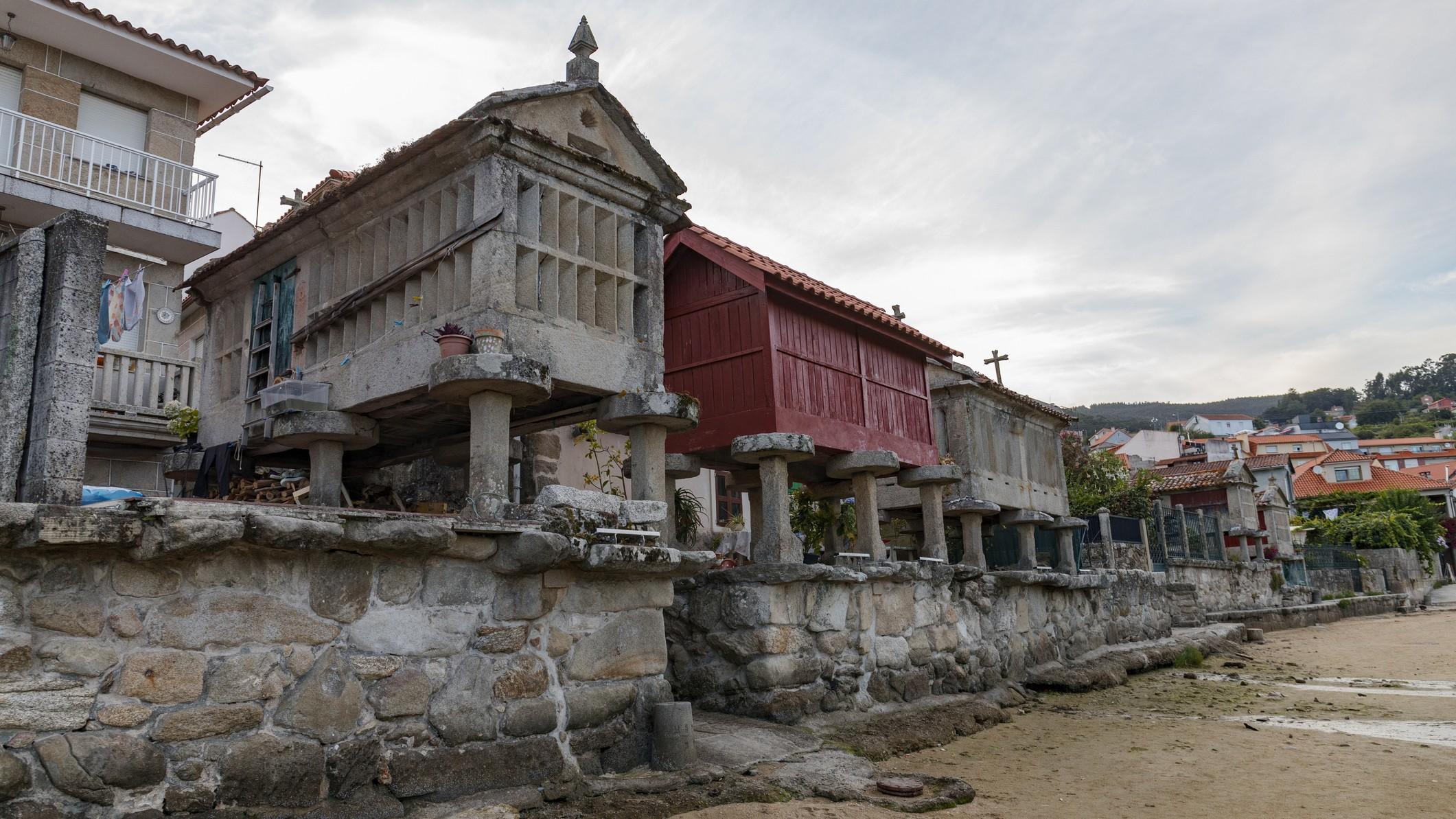 Descubrimos Combarro, la localidad con más hórreos de Galici