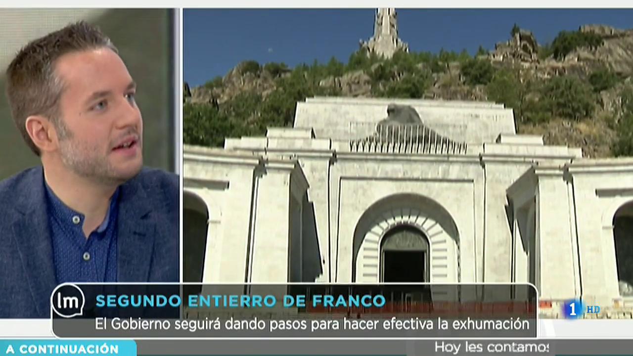 La Mañana - Detenido por pintar la tumba de Franco