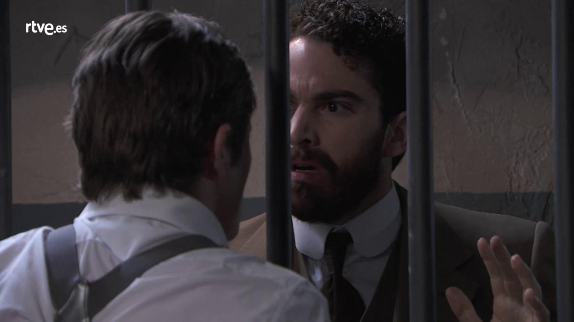 Acacias 38 - Diego se enfrenta a Samuel en la cárcel