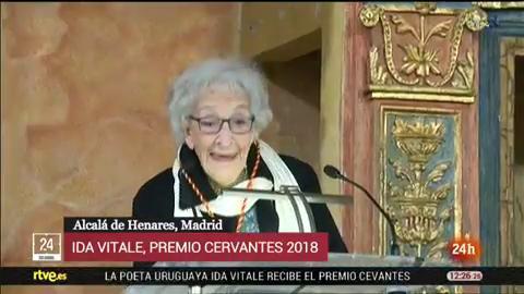 Discurso íntegro de Ida Vitale, Premio Cervantes 2018