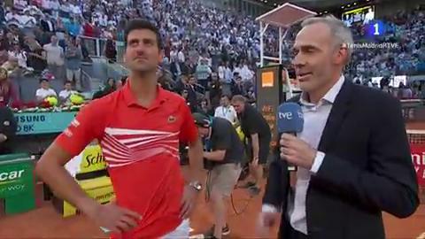 """Djokovic: """"Este torneo es uno de los más grandes del mundo"""""""