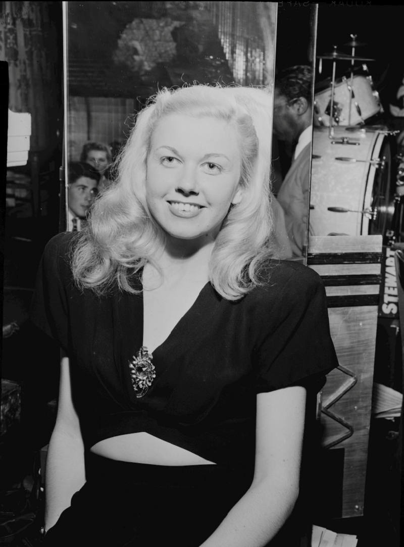 Doris Day, fotografiada en Nueva York en 1946.