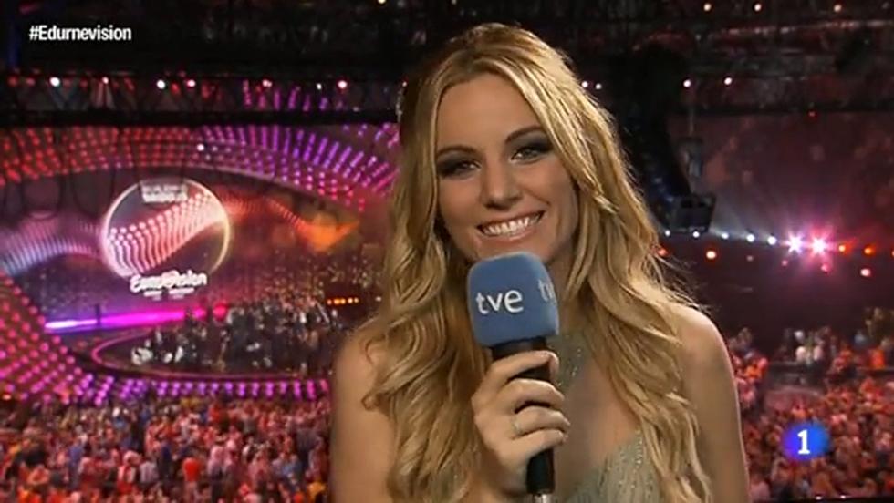 """Eurovisión 2015 - Edurne: """"Me siento ganadora"""""""