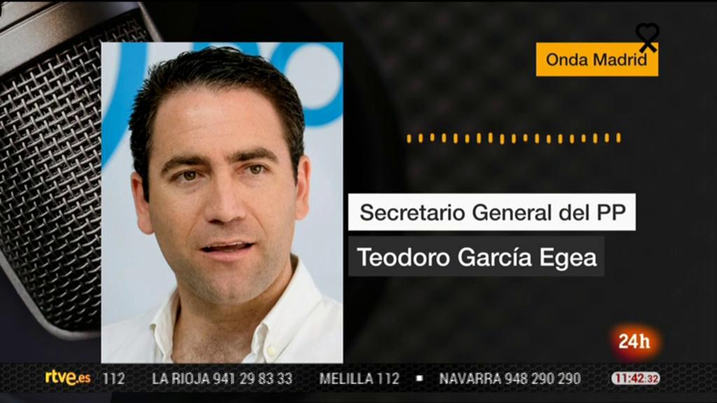 Egea (PP) asegura que las palabras de Álvarez de Toledo contra el padre de Iglesias forman parte del intercambio parlamentario