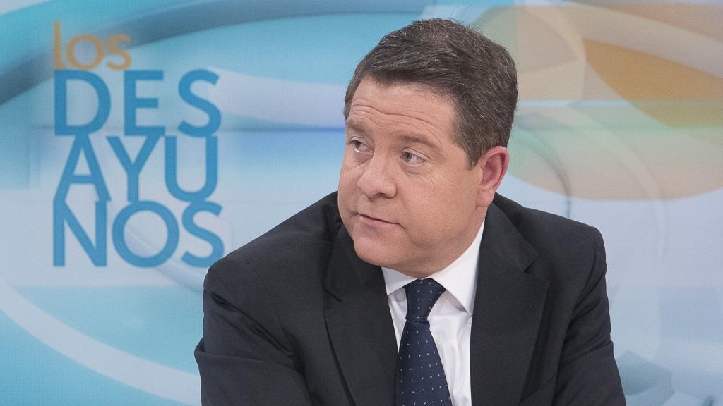 Los desayunos de TVE - Emiliano García-Page, presidente de Castilla-La Mancha