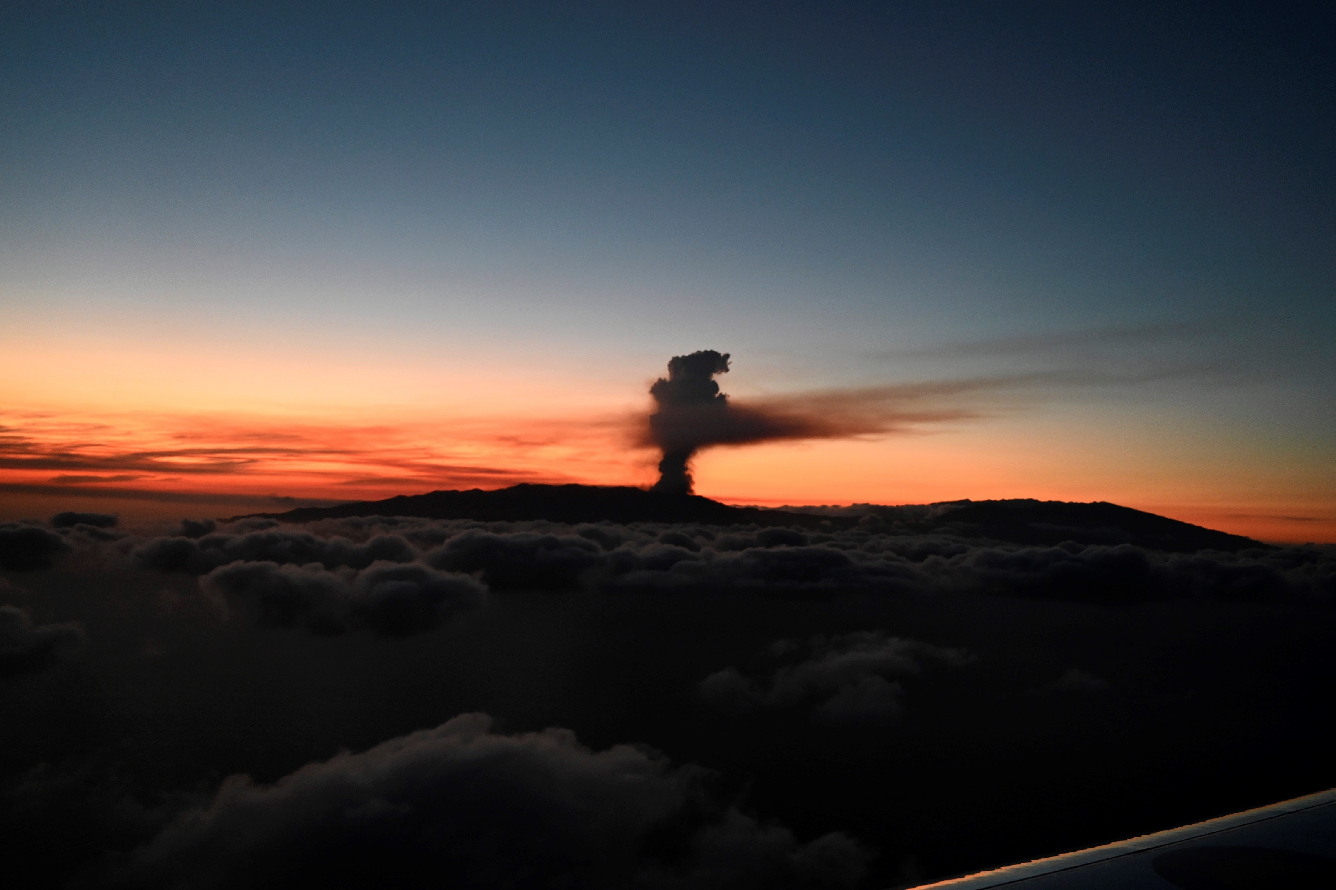 Erupción volcánica en la Cumbre Vieja de La Palma
