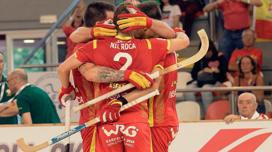 España, campeona de Europa de hockey patines
