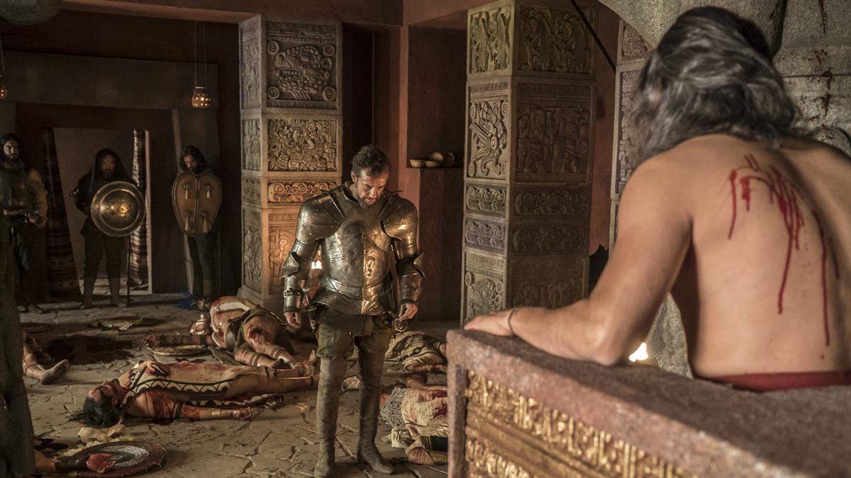 Carlos, Rey Emperador - Los españoles arrasan Tenochtitlan