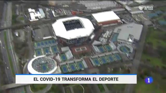 Estadios míticos convertidos en hospitales de campaña por el coronavirus