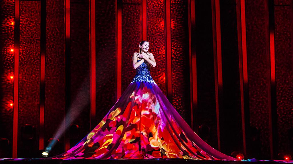 """Eurovisión - Estonia: Elina Nechayeva canta """"La forza"""" en la final de Eurovisión 2018"""