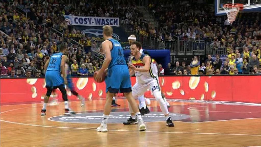 Baloncesto - Eurocup Playoff Semifinal 1º partido: Alba Berlín - Morabanc Andorra