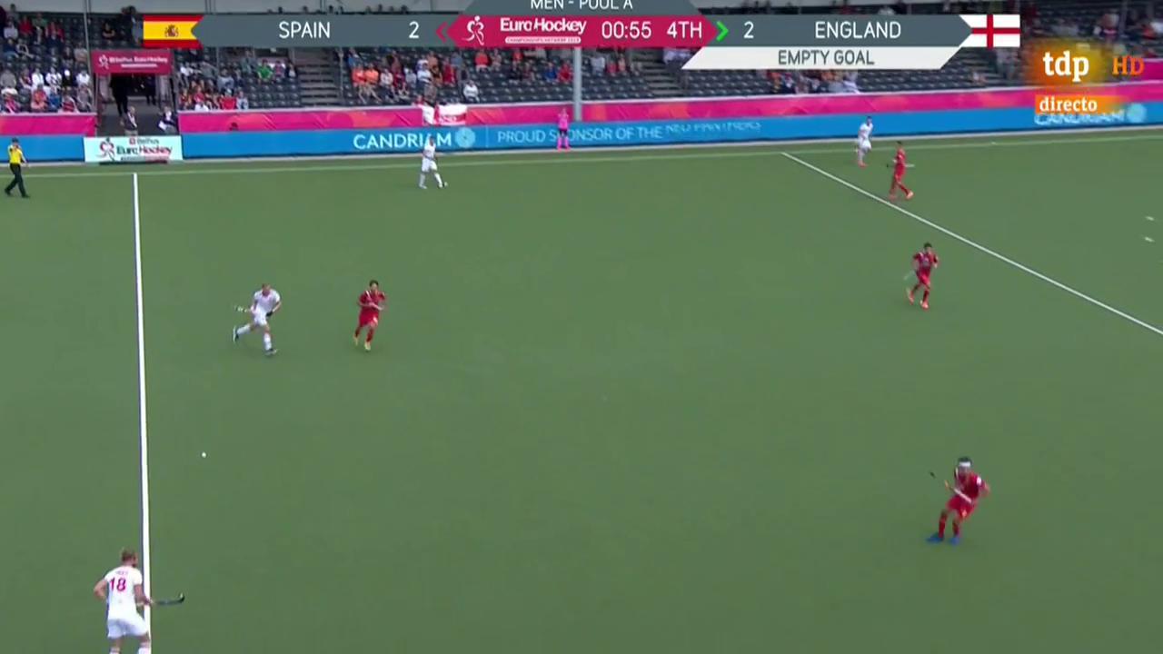 Europeo de hockey hierba | España empata con Inglaterra y accede a semifinales