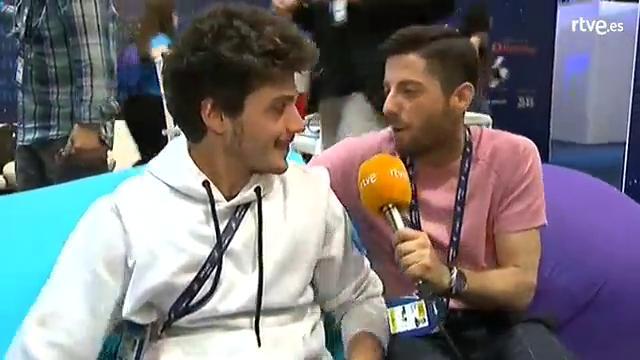 Entrevista a Miki tras la final de Eurovisión 2019
