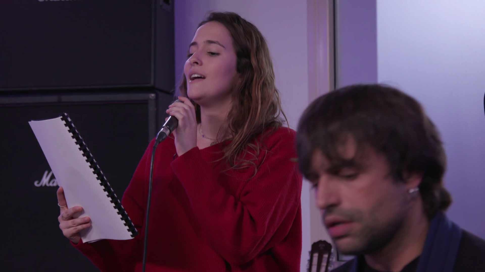 """Eurovisión 2019 - Marilia ensaya """"Todo bien"""""""