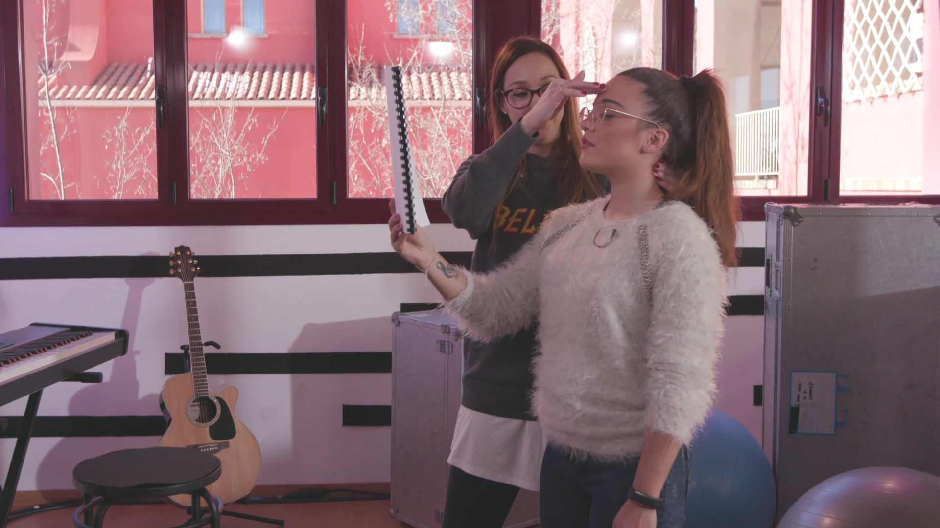 "Eurovisión 2019 - Noelia ensaya ""Hoy vuelvo a reír otra vez"""