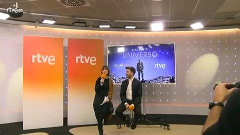 """Rueda de prensa """"Universo"""", la canción de Blas Cantó"""