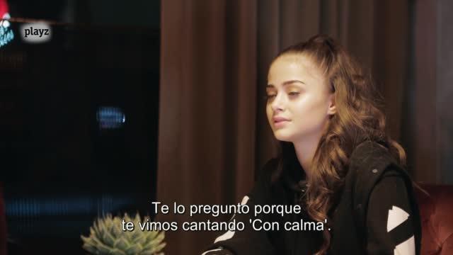 "Eurovisión 2020 - Stefania, candidata de Grecia, canta el tema de Blas Cantó, ""Universo"""
