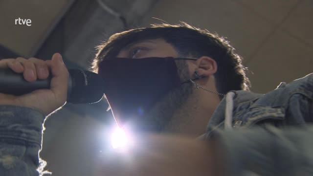 Blas Cantó realiza los últimos ensayos antes de Eurovisióin